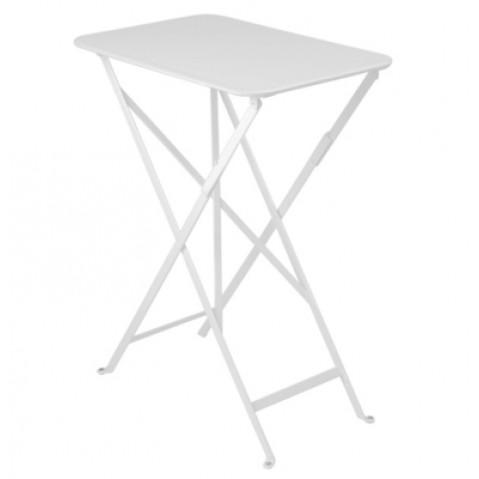 Table rectangulaire BISTRO 37 x 57 cm de Fermob , Blanc coton