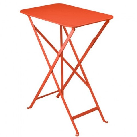Table rectangulaire BISTRO 37 x 57 cm de Fermob, Capucine