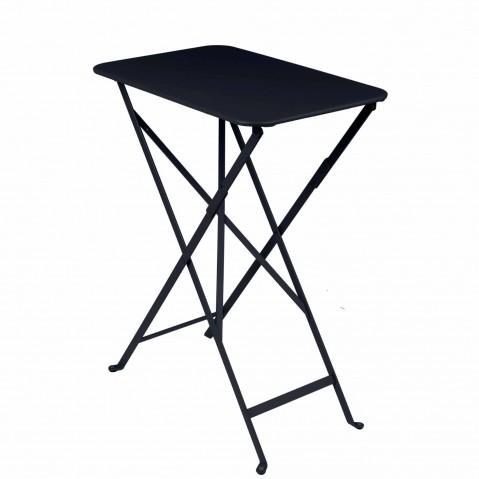 Table rectangulaire BISTRO 37 x 57 cm de Fermob, Carbone