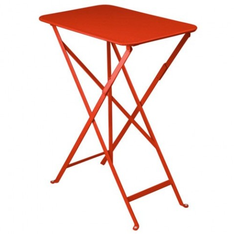Table rectangulaire BISTRO 37 x 57 cm de Fermob, Coquelicot