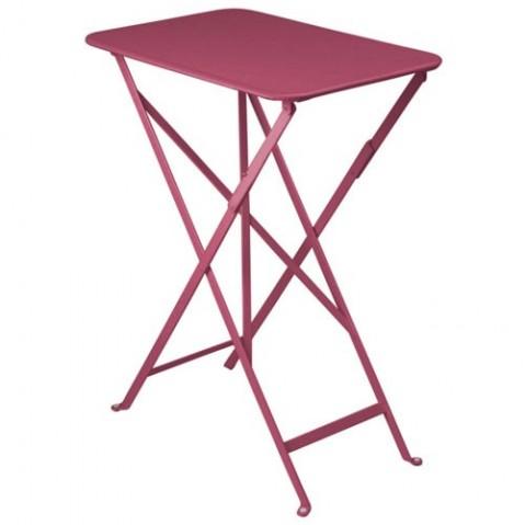 Table rectangulaire BISTRO 37 x 57 cm de Fermob, Fuchsia