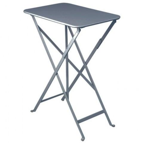 Table rectangulaire BISTRO 37 x 57 cm de Fermob, Gris orage