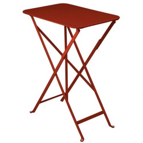 Table rectangulaire BISTRO 37 x 57 cm de Fermob, piment