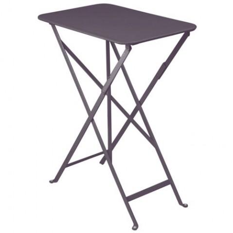 Table rectangulaire BISTRO 37 x 57 cm de Fermob, Prune