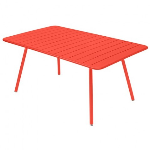 Table rectangulaire confort 6 LUXEMBOURG de Fermob, 23 coloris