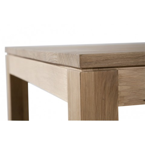 Table rectangulaire HORECA en chêne d'Ethnicraft, 120x70cm