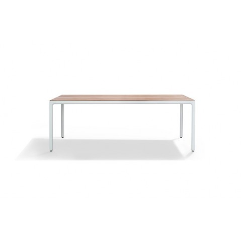 Table rectangulaire ILLUM de Tribù, Teck