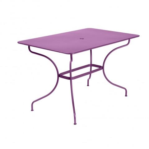 Table rectangulaire OPÉRA de Fermob aubergine