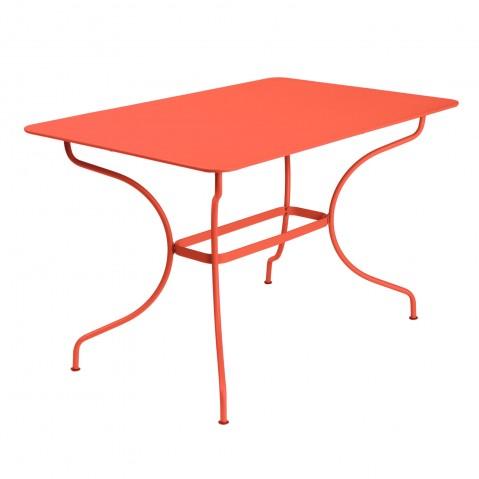 Table rectangulaire OPÉRA de Fermob, Capucine