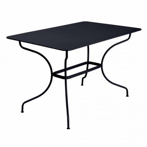 Table rectangulaire OPÉRA de Fermob Carbone