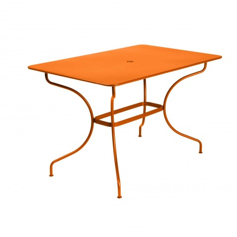 Table rectangulaire OPÉRA de Fermob, Carotte