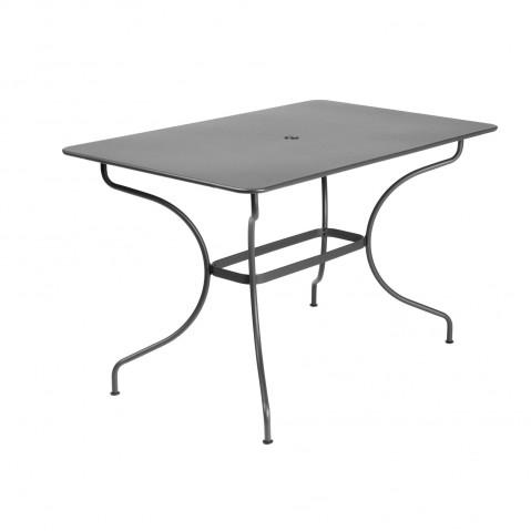 Table rectangulaire OPÉRA de Fermob gris orage