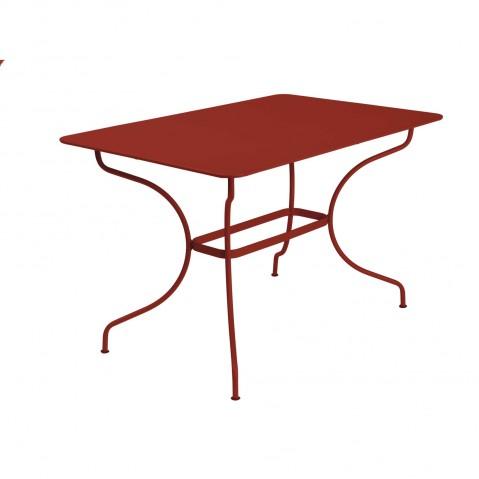 Table rectangulaire OPÉRA de Fermob piment