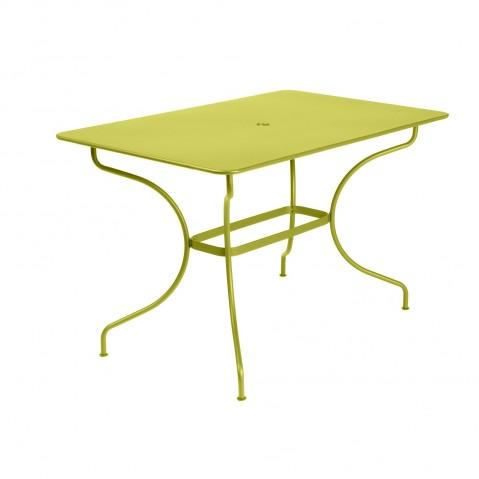 Table rectangulaire OPÉRA de Fermob, Verveine
