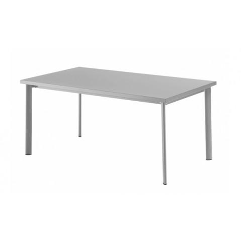 Table rectangulaire STAR de Emu, Aluminium