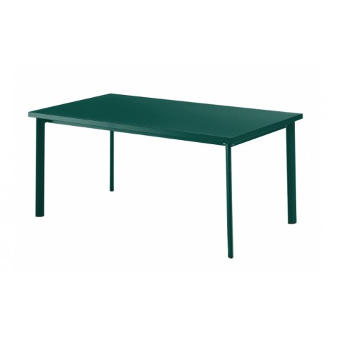 Table rectangulaire STAR de Emu, Bleu