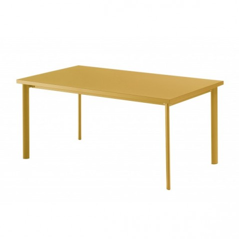 Table rectangulaire STAR de Emu, Orange