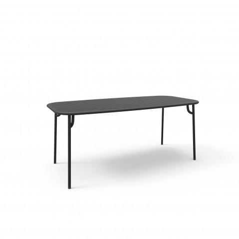 Table rectangulaire WEEK-END de Petite Friture, 2 tailles, 5 coloris