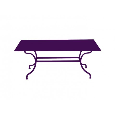 Table ROMANE 180 cm de Fermob aubergine