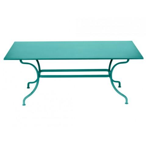 Table ROMANE 180 cm de Fermob Bleu lagune