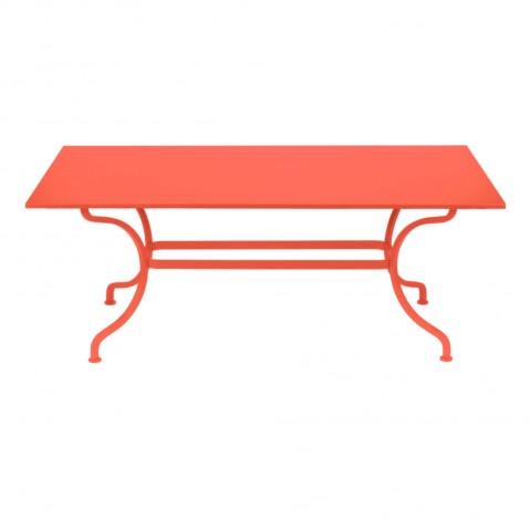 Table ROMANE 180 cm de Fermob, Capucine