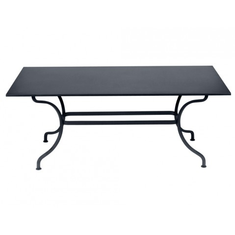 Table ROMANE 180 cm de Fermob Carbone