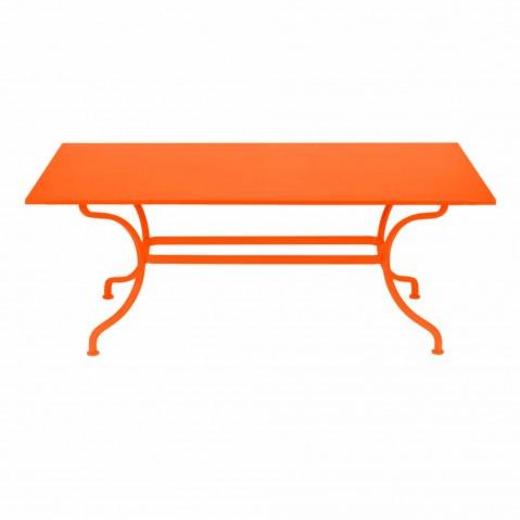 Table ROMANE 180 cm de Fermob carotte