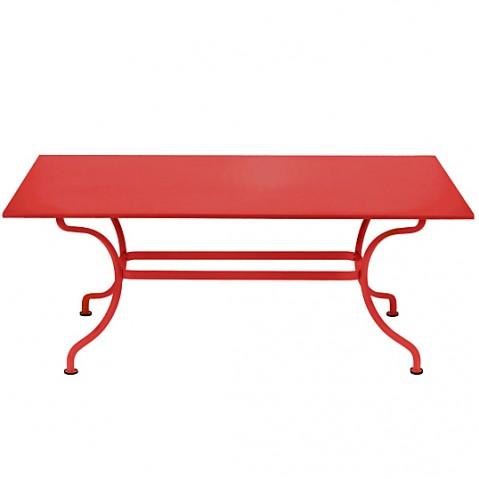 Table ROMANE 180 cm de Fermob coquelicot