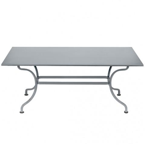 Table ROMANE 180 cm de Fermob gris métal