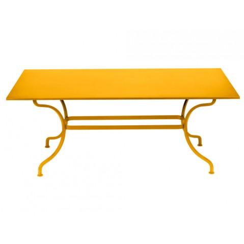 Table ROMANE 180 cm de Fermob, Miel