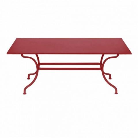 Table ROMANE 180 cm de Fermob piment