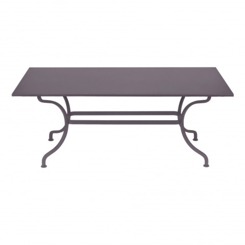 Table ROMANE 180 cm de Fermob, Prune