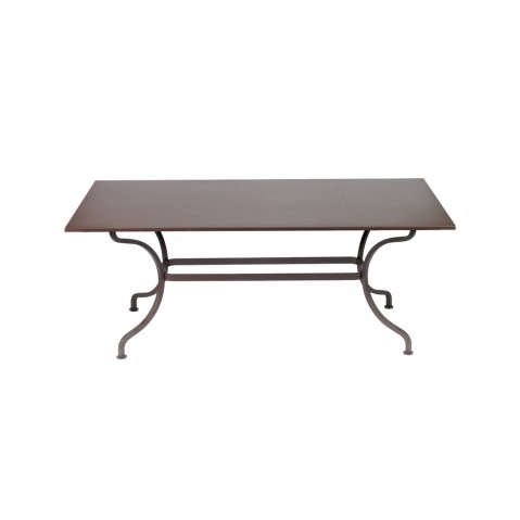 Table ROMANE 180 cm de Fermob rouille