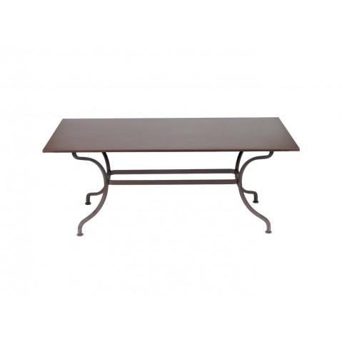 Table ROMANE 180 cm de Fermob rouille