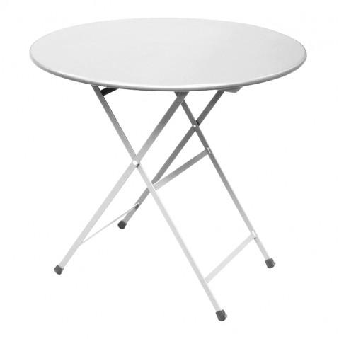 Table ronde ARC EN CIEL de Emu, Blanc