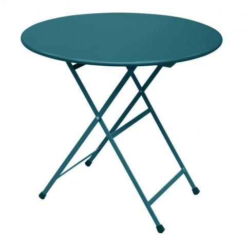 Table ronde ARC EN CIEL de Emu, Bleu