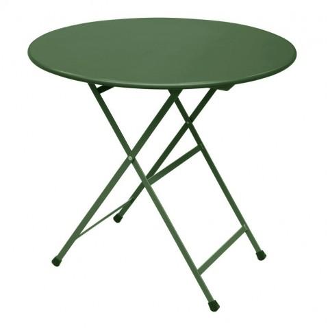 Table ronde ARC EN CIEL de Emu, Vert