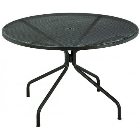 Table ronde CAMBI de Emu D.106 noir
