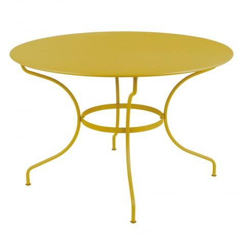 Table ronde D.117 cm OPÉRA de Fermob, Miel