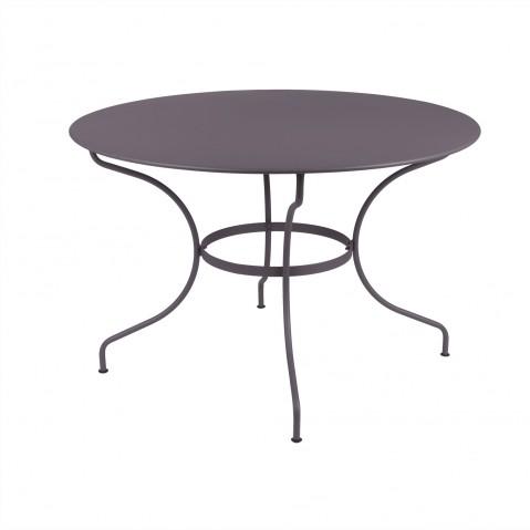 Table ronde D.117 cm OPÉRA de Fermob, Prune