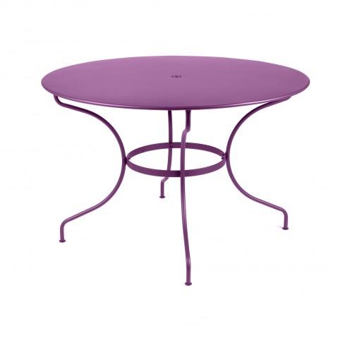 Table ronde D.117 OPÉRA de Fermob aubergine