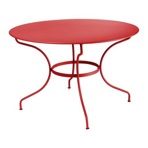 Table ronde D.117 OPÉRA de Fermob, Coquelicot