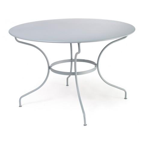 Table ronde D.117 OPÉRA de Fermob gris métal
