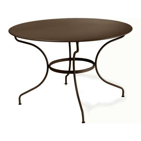 Table ronde D.117 OPÉRA de Fermob rouille