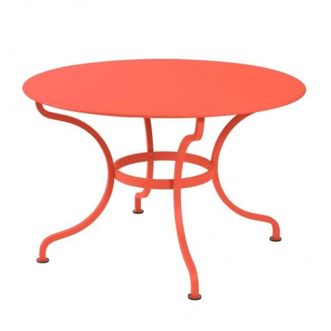 Table ronde D.137 ROMANE de Fermob, Capucine