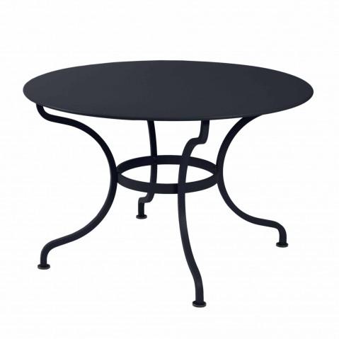 Table ronde D.137 ROMANE de Fermob, Carbone