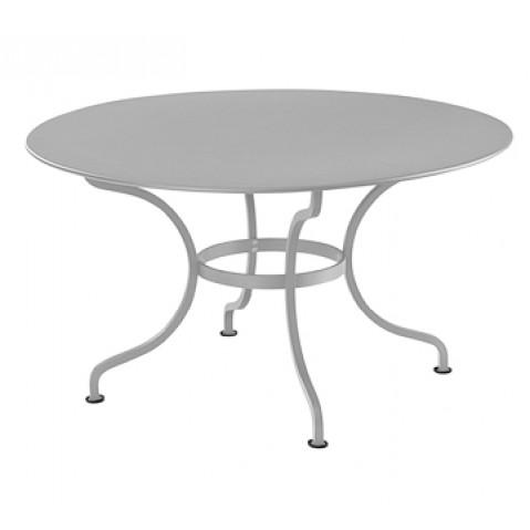 Table ronde D.137 ROMANE de Fermob, Gris métal