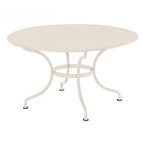 Table ronde D.137 ROMANE de Fermob, Lin