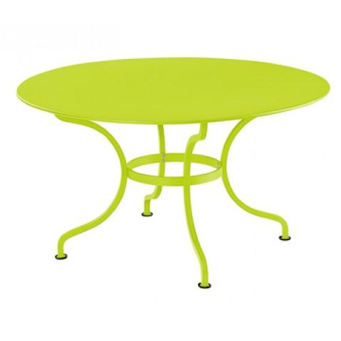 Table ronde D.137 ROMANE de Fermob, Verveine