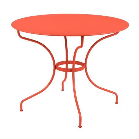 Table ronde D.96 cm OPÉRA de Fermob, Capucine